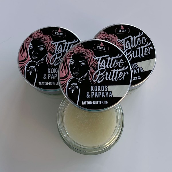 3er Pack Tattoo Butter Kokos & Papaya - Mädels